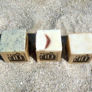 Assortiment de 3 savons : Terre de Lune Terre de l'île Termaji