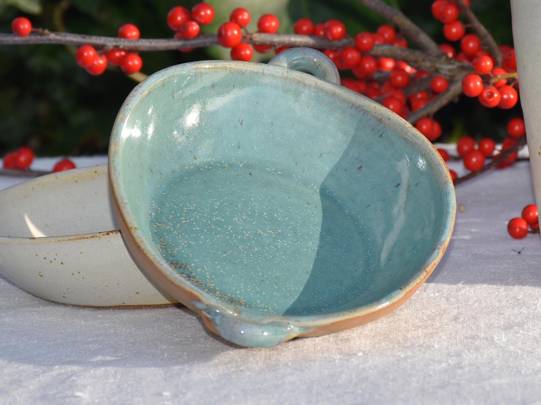 Coupelle vide-poche turquoise