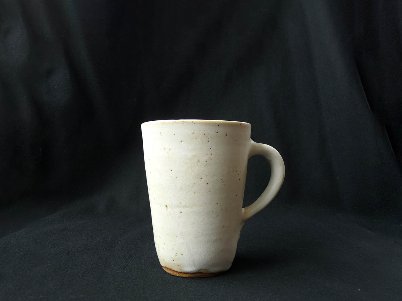 Mug crème en grès