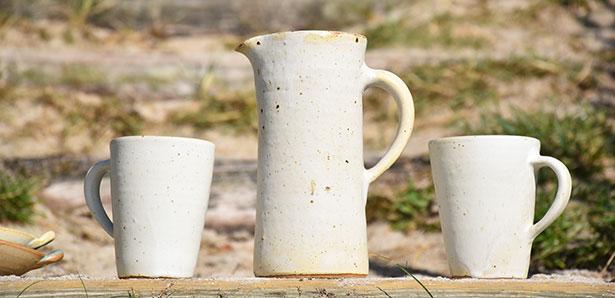 céramique mug et pichet