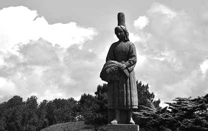 Statue Bigoudène Port Poulhan